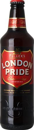 Fullers London Pride 12 x 500ml Bottles London Pride is a smooth and astonishingly complex beer, which has a distinctive malty base complemented by a rich balance of well developed hop flavours from the Target, Challenger and Northdown vari http://www.comparestoreprices.co.uk/january-2017-3/fullers-london-pride-12-x-500ml-bottles.asp