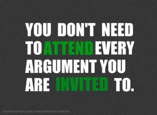 You don't have to.: Argument, Sayings, Inspiration, Quotes, Truth, Wisdom, True, Thought