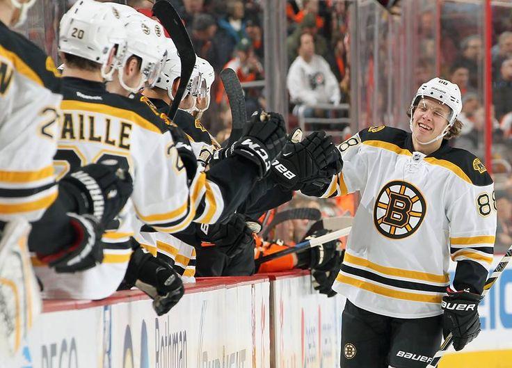 88 David Pastrnak  #BOS  #Bruins #Goal 2014/15 https://www.facebook.com/NHLBruins/photos/pb.23050834961.-2207520000.1421581588./10152941770609962/?type=3 Bos vs Phi  3-1 2G  Video  http://video.bruins.nhl.com/videocenter/console?catid=660&id=722740&lang=en