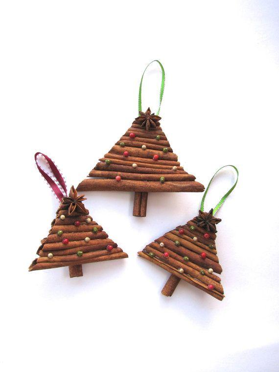 Cinnamon spiced Christmas tree ornament  by SpiceGroveDesigns, $10.00
