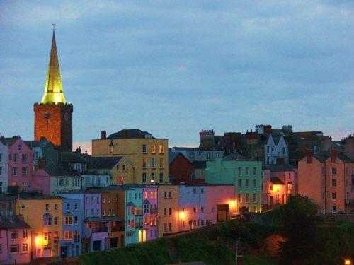 ~ twilight in Tenby ~ Wales ~