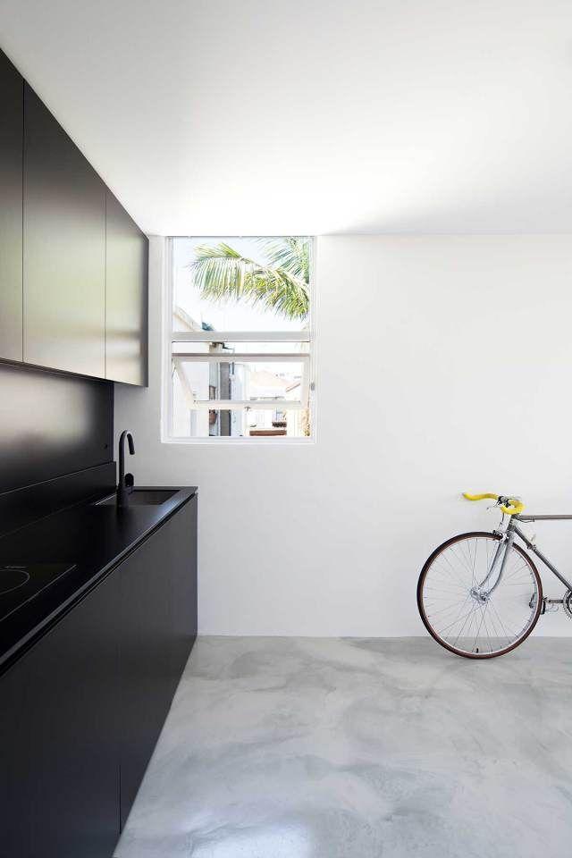 Diseño de cocina totalmente minimalista
