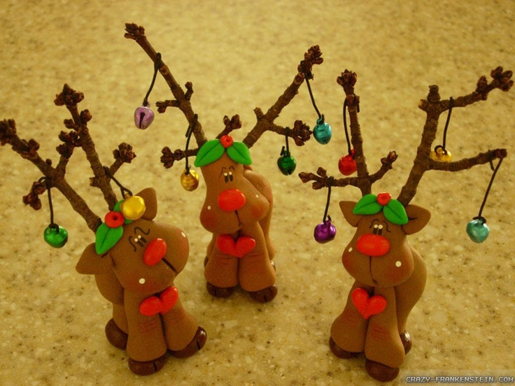 cool christmas crafts 22 best clay mice fimo polymer images on 1346