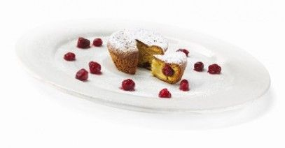 Muffins with Wild Strawberry Mostarda Lazzaris