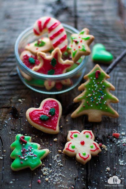 Katie's Happy Clouds: Kruche ciasteczka świąteczne