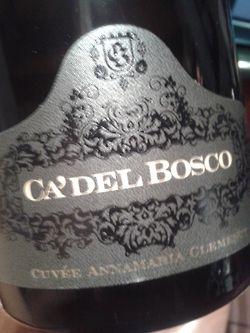 Cà del Bosco, Cuvee Anna Maria Clementi 2002 #vino