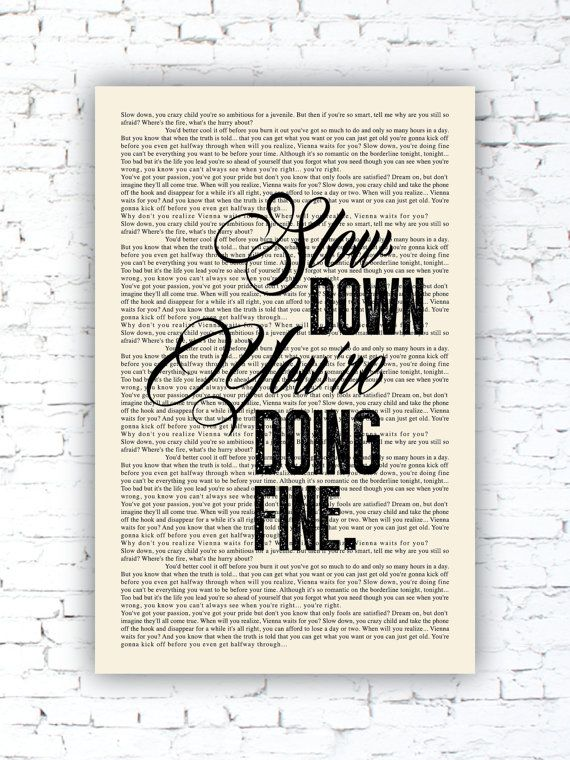 42 best only fools are satisfied images on pinterest destinations vienna book page billy joel lyrics poster print studio wall art distressed stopboris Image collections