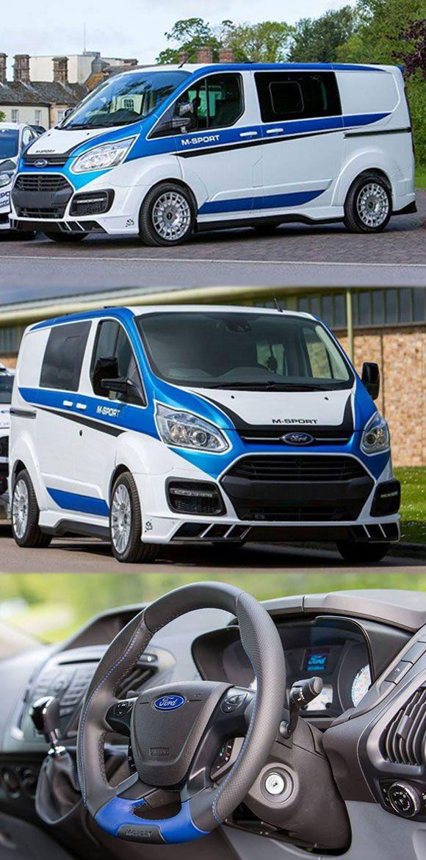 #Ford #TransitCustom #Van Gets #MSport Treatment http://www.fordtransitengines.co.uk/blog/category/transit-custom/