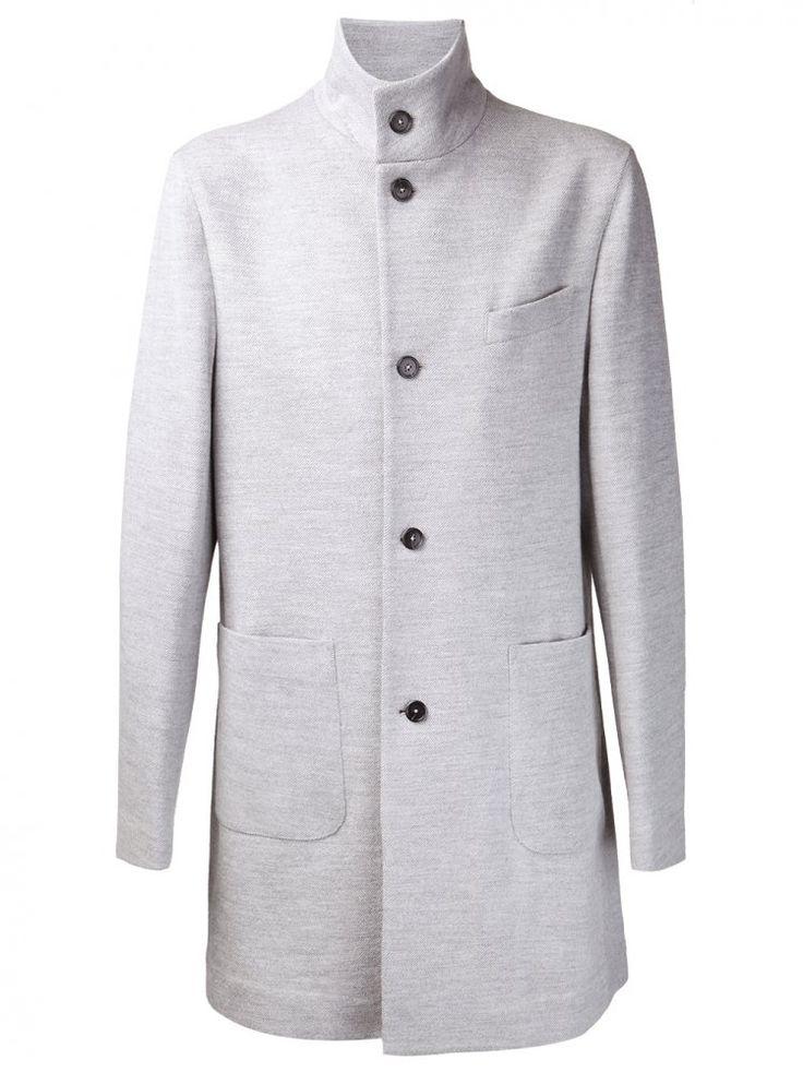 JOHN RICHMOND - Standing Collar Mandarin Coat - 1418 3465 1005 - H. Lorenzo