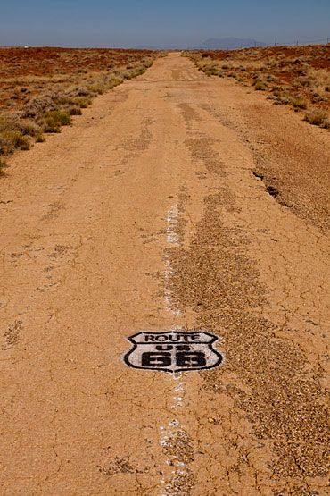 Old Route 66 - Arizona- a great memory. Oatman to The Grand Canyon......