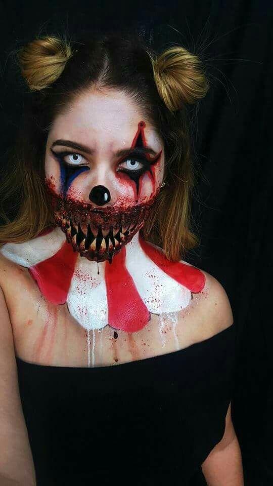 Freaky looks like something off american horror story!!