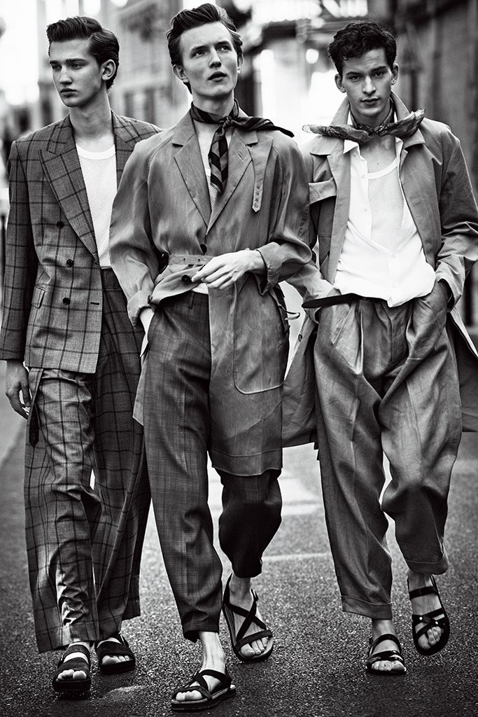 fine-and-dandy-8 - The Teddy Boys was a 1950s youth subculture in Britain - This is an inspired editorial.