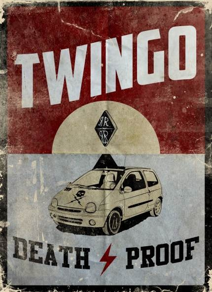 Twingo Death Proof.