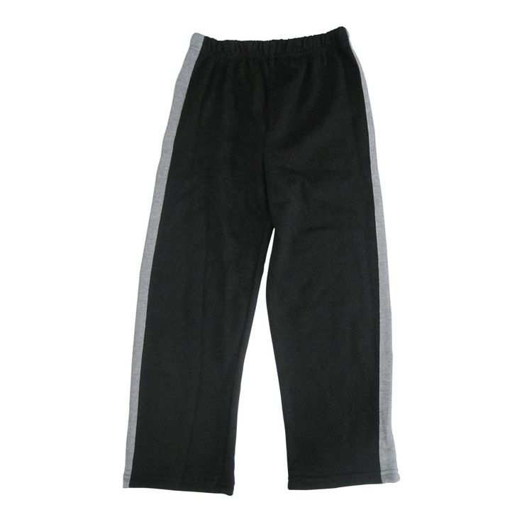 Casual, sporty, side striped Batman sweat pants suitable for boys wear. Simple and functional these black pants have grey side stripes lending the confection a sporty vibe. With a loose fit and an elastic waistband the trousers are a must-have item for hi