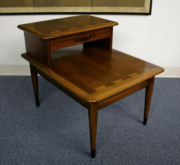 Lane Quot Acclaim Quot By Andre Bus 1960 65 Two Tier Table With