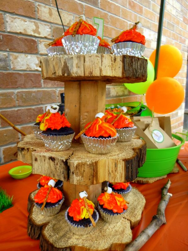 Camp Fire Cupcakes A Southern Outdoor Cinema Movie Snack