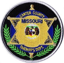 Carter County Sheriffs Department Missouri patch NEW