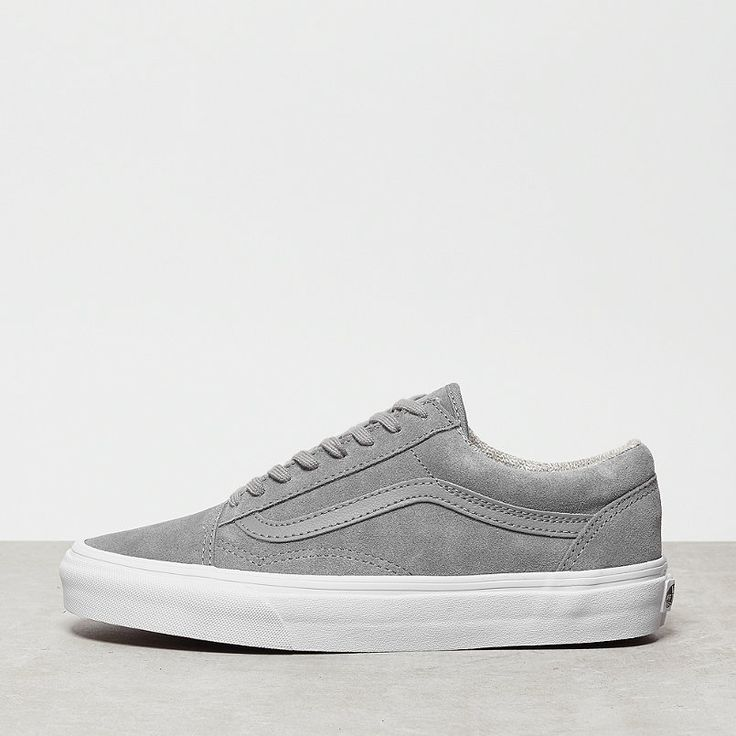 vans old skool grau damen