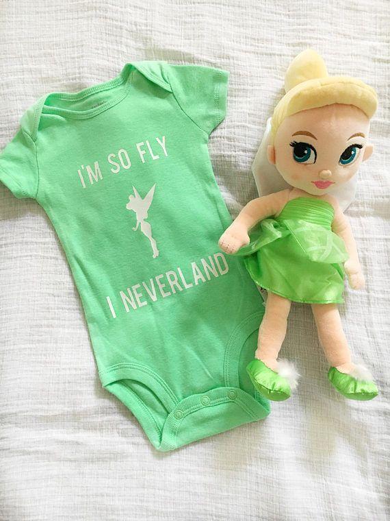 Neverland Baby Bodysuit/Iron-on