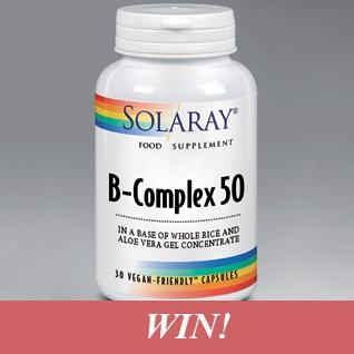 Win a three month supply of B-Complex 50 (Vitamin B!)