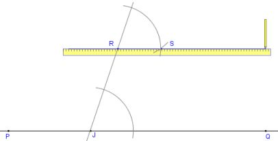 Geometry - Constructing parallel lines