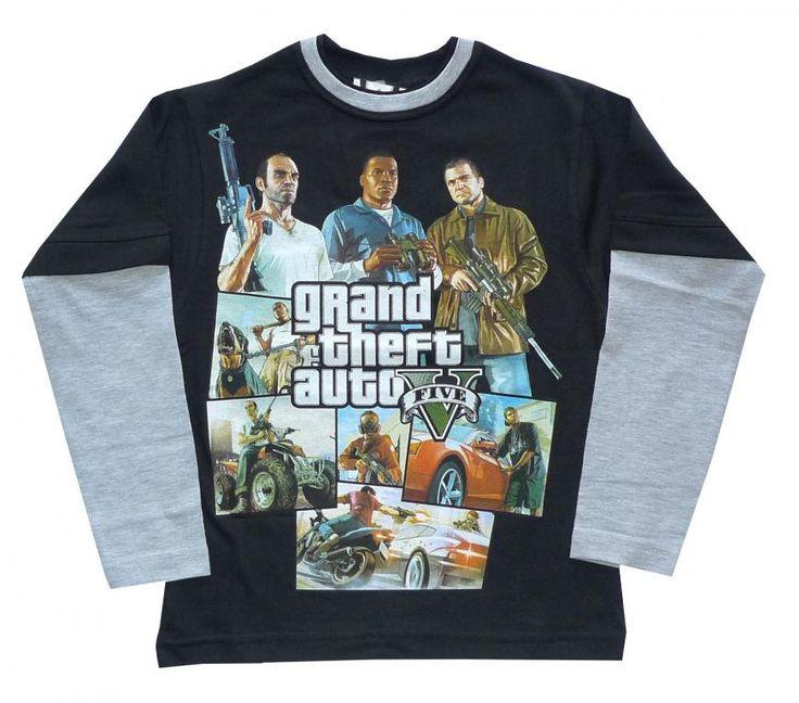 Bluzka dla graczy GTA  HIT 146 PL