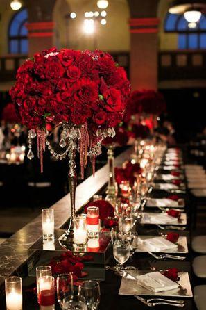 Best 25 red wedding receptions ideas on pinterest red wedding 3 halloween wedding color palettes red wedding flowerswedding themes junglespirit Gallery