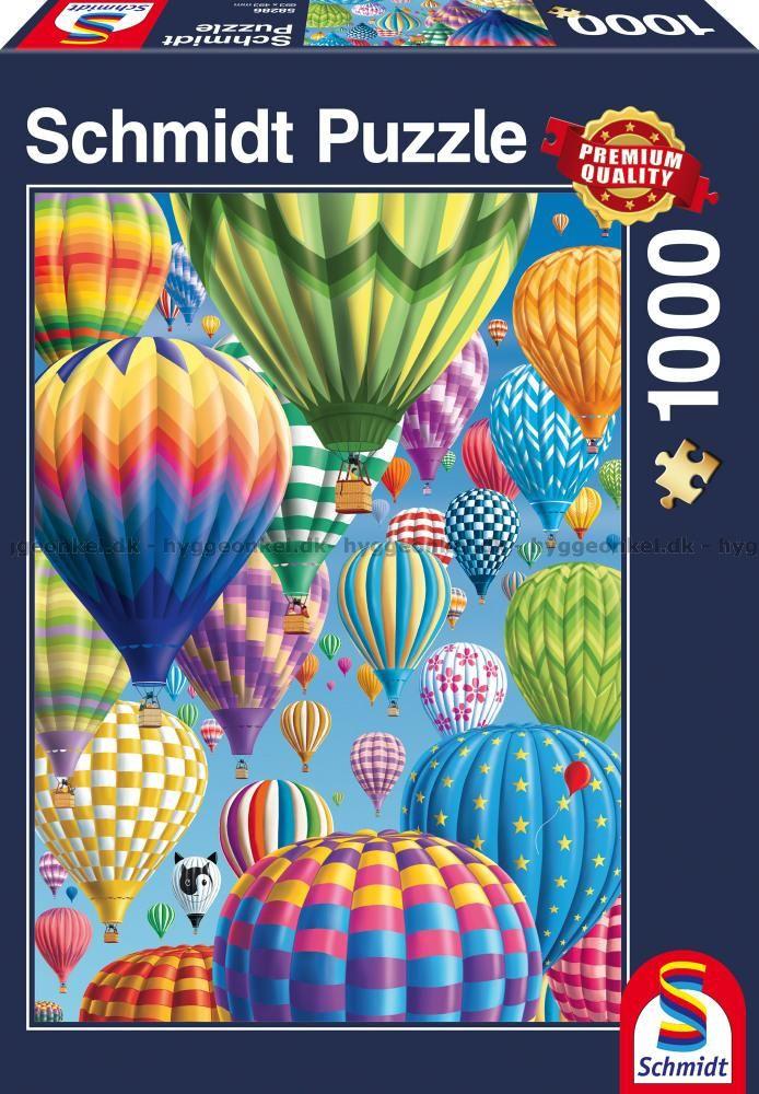 Ballongfärden, 1000 bitar by Boardgamer