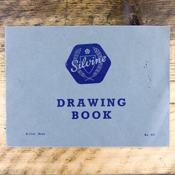 vintage silvine exercise books - Google Search