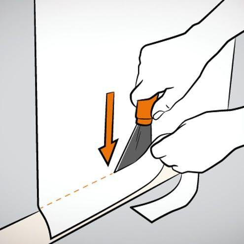 Raufaser Tapezieren Schritt Fur Schritt Raufaser Tapezieren Tapeten Entfernen