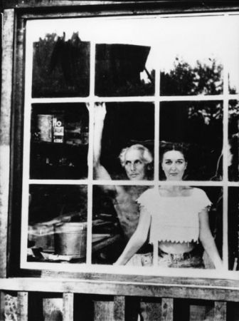 Dorothea Tanning and Max Ernst, Sedona, Arizona - 1946 - photograph by Lee Miller