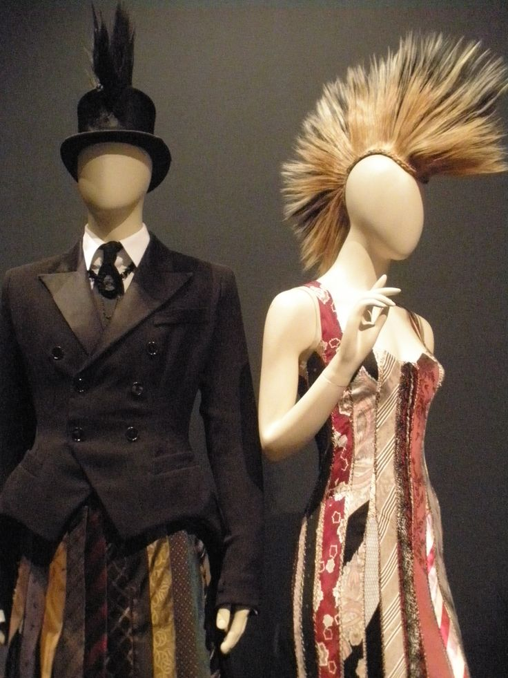 Jean-Paul Gaultier, Barbican, fashion, formal punk