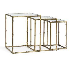 Glass End Tables, Small End Tables & Small Side Tables | Pottery Barn