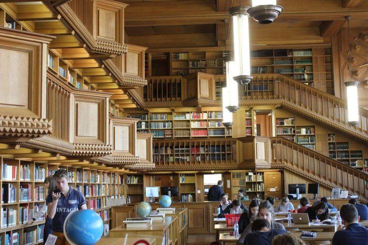 Una biblioteca mágica