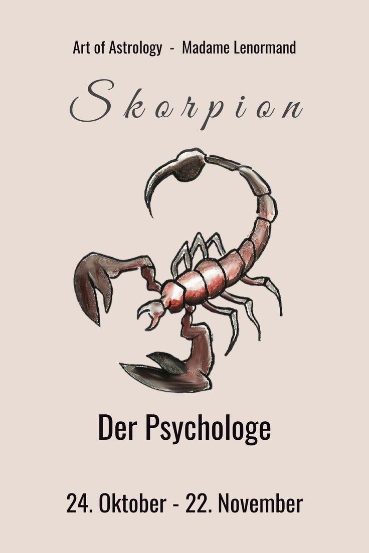 Sternzeichen Skorpion - Drang nach Strukturierung