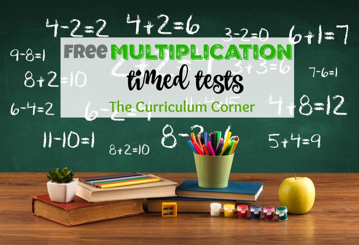 Use these multiplication timed tests to help your students master their facts. Includes multiple pages for each fact family.