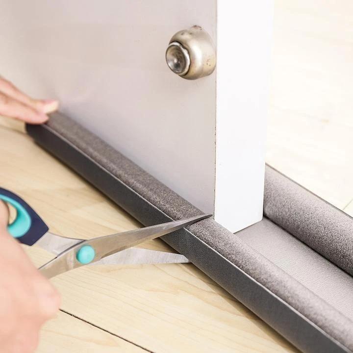 Flexible Door Bottom Sealing Strip Set Jiao Ke Three In 2020 Door Draught Stopper Door Seals Door Stopper