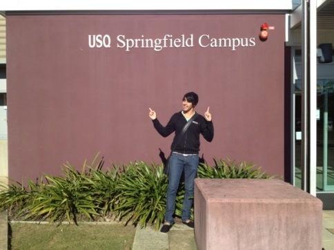 USQ Student Blogger Jordan - Welcome to Springfield #usq #usqspringfield #study