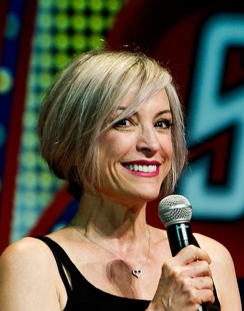 Gorgeous Nana Visitor of DS9 in 2014