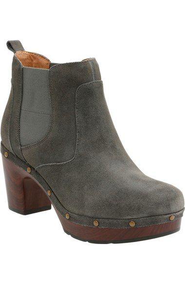 Clarks® 'Ledella Star' Platform Chelsea Boot (Women) available at #Nordstrom