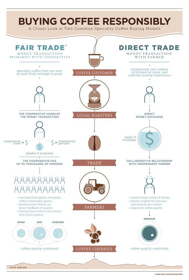 Coffee lovers, do you know the difference between direct trade and fair trade? : TreeHugger