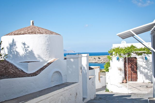 Lindos, Rhodes is.