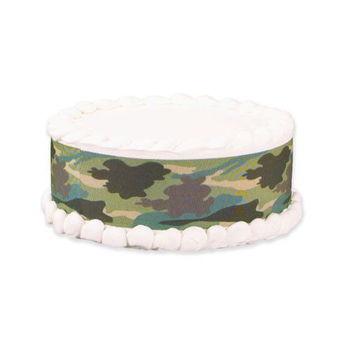 Lucks Edible Image Jungle Camo Designer Prints, 36 pk by Lucks. $42.95. Lucks Edible Image® Designer Prints™ Cake Decorating Strips are a fun and easy way to decorate buttercream, fondant, gum paste, chocolate, whipped toppings, fudge and ice cream cakes. Designer Prints give the look of a high-end cake without the added time and labor, and enable decorators of all skill levels to easily craft beautiful cakes and confections. Lucks Edible Image® Designer Prints™ cake deco...