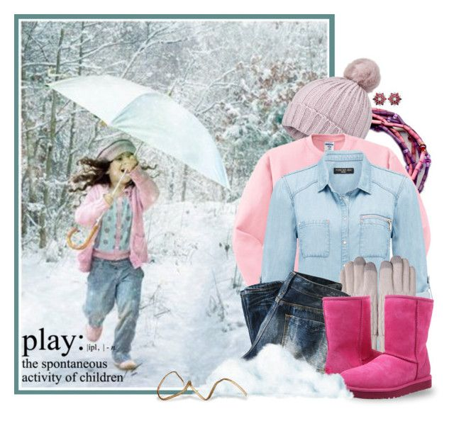 """Snow Play"" by leegal57 ❤ liked on Polyvore featuring Miss Selfridge, Forever New, Replay, UGG Australia, snow, theleakeycollection, leakeycollection and winterstyle"