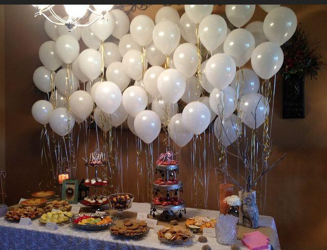 Balloon backdrop Showers Pinterest Balloon backdrop and