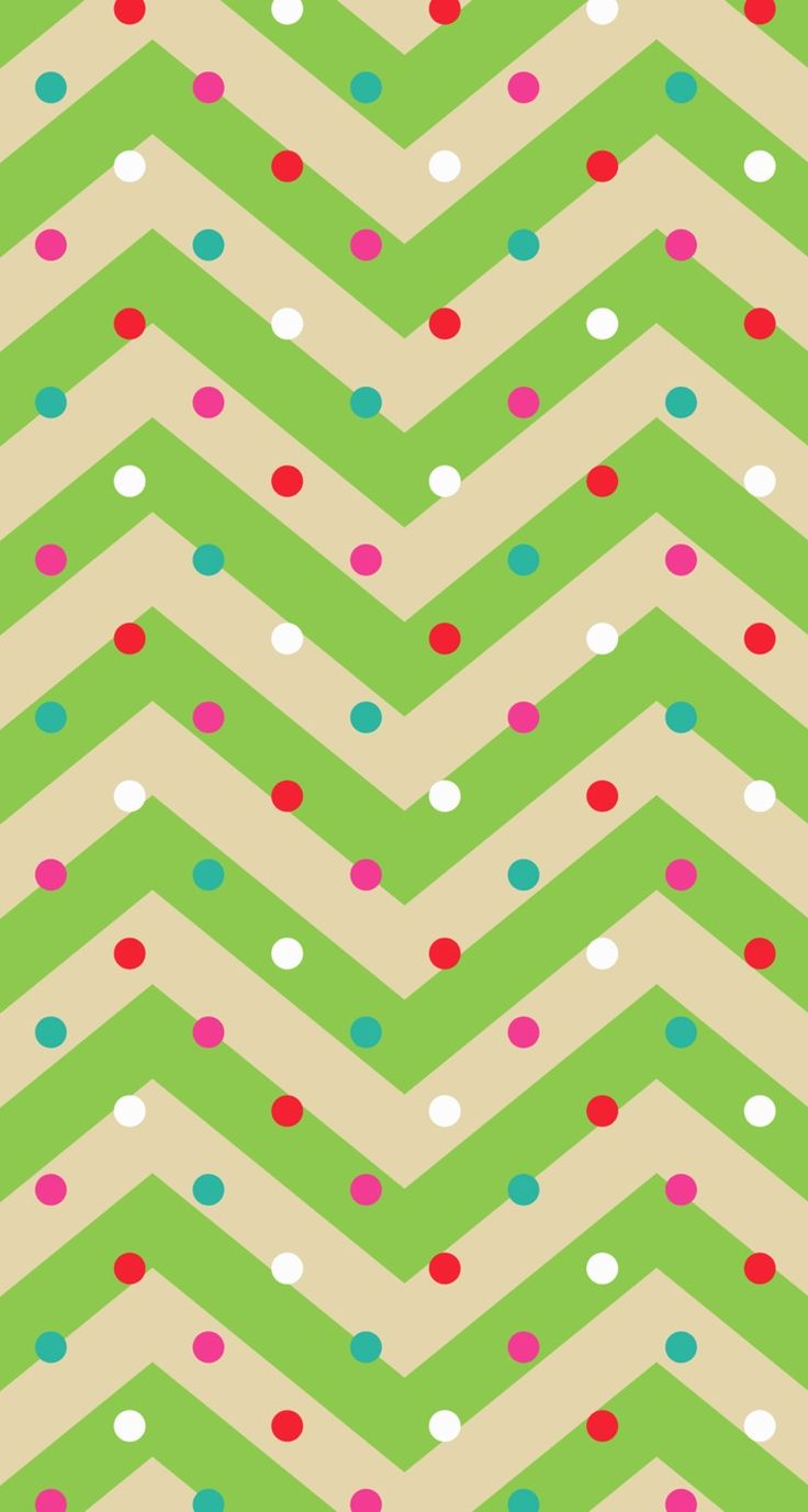 Christmas chevron - phone wallpaper