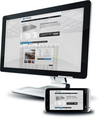Serwis internetowy dla producenta blachy