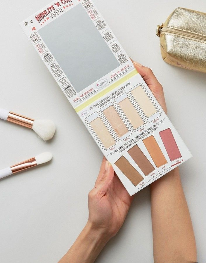 The best makeup palette! The Balm theBalm Highlight N Con Tour Makeup products Natural Makeup #aff