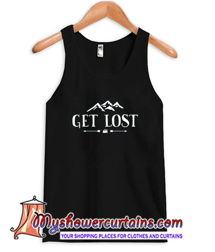 About Get Lost Tanktop from myshowercurtains.com This Dream catcher tanktop is Made To Order, we print the one by one so we can control the quality.