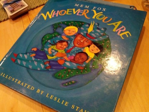 PIN 3: 'Whoever You Are', by Mem Fox is a great children's book that discusses acceptance and respect for cultural diversity in Australia.